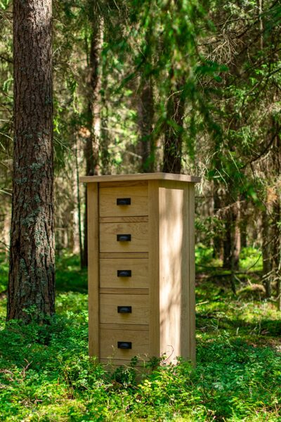 "Chest of drawers ""EVEREST TOP"" (oak)"