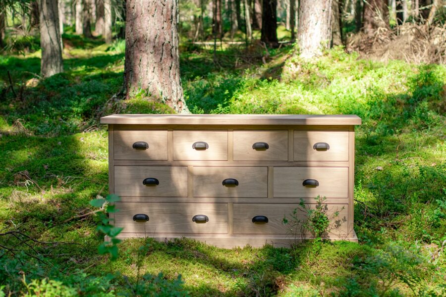 "Chest of drawers ""EVEREST 4/3/2"" (oak)"