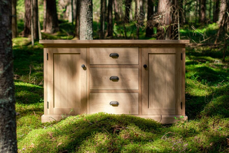"Chest of drawers ""EVEREST 2D/3A"" (oak)"
