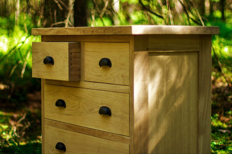 "Chest of drawers ""EVEREST 2/3"" (oak)"